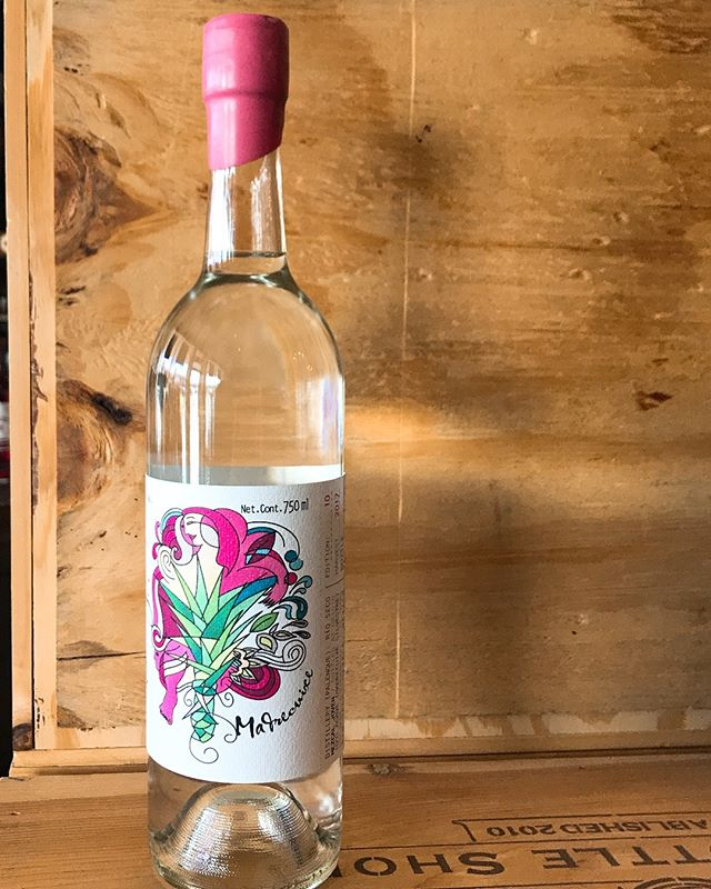You can always buy the bottle because the mezcal is delicious or you can buy it because of the label. No judgement here. #mezcal . . . . . . . . . . #hfbottleshop #pink #wine #vodka #tequila #whiskey #whisky #spirits #bottle #bottleshop #shopsmall #shoplocal #atl #atlanta #drinks #cocktails #margarita