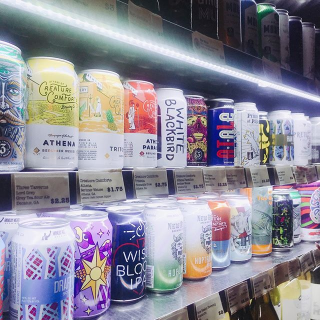 Happy New Beer's Eve! Tomorrow is National Beer Day and we're celebrating the best way we know how by popping open a cold one. #newbeerseve . . . . . . . . . . . . . . #nationalbeerday #beer #shopsmall #shoplocal #atl #atlanta #bottleshop #alcohol #cocktails #spirits #lager #wine