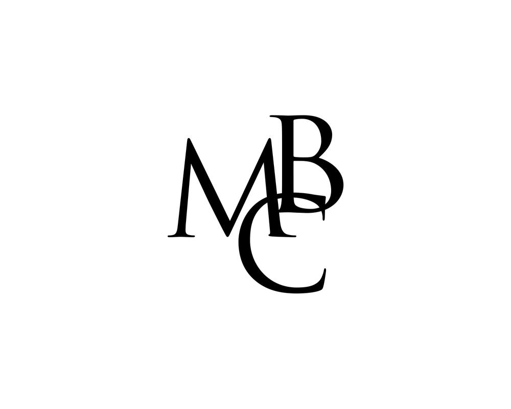 MBC  my initials logo