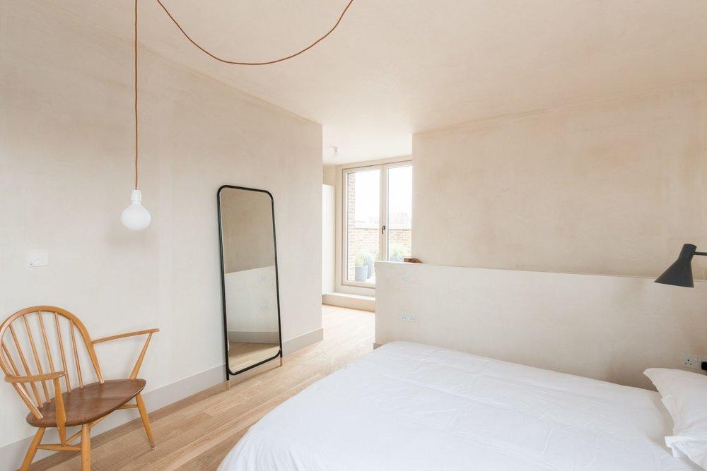 Shepherdess Walk - Apt 4 - Master Bedroom with Ensuite and Private Terrace.jpg