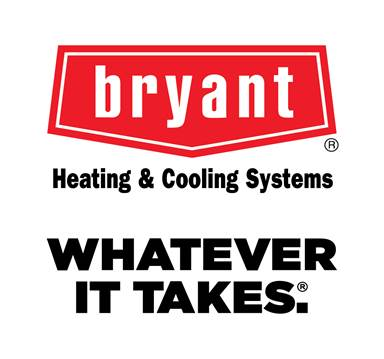 Bryant Heating & Cooling Systems - Since 1904, Bryant Has been building on the foundation of quality and reliability that Charles Bryant founded Bryant Heating & Cooling on. They strive to go above and beyond, both in the lab and in the home, to bring you the Most Customized home comfort solutions you deserve. To us, it's not just about heating and cooling, but providing products you can rely on and service you can trust. Bryant. Whatever It Takes®.