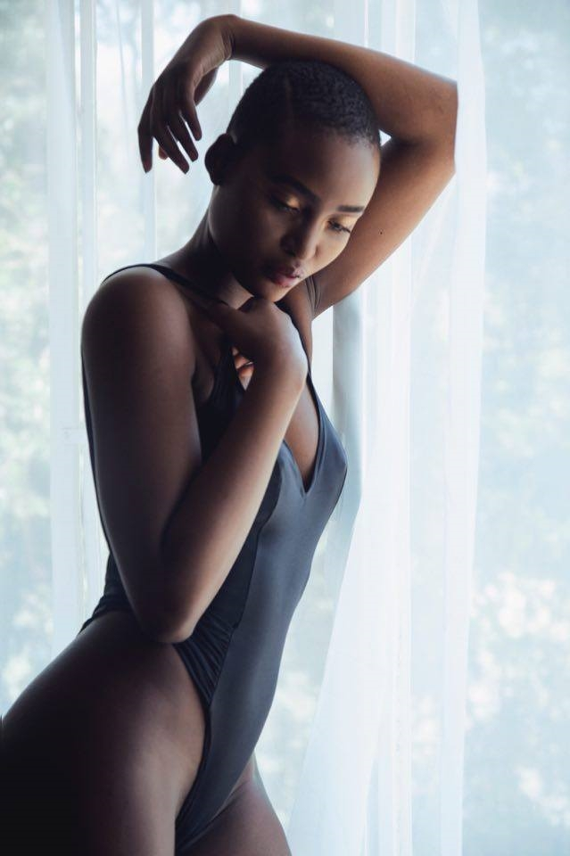 Mmina Gaebonwe from Boss Models