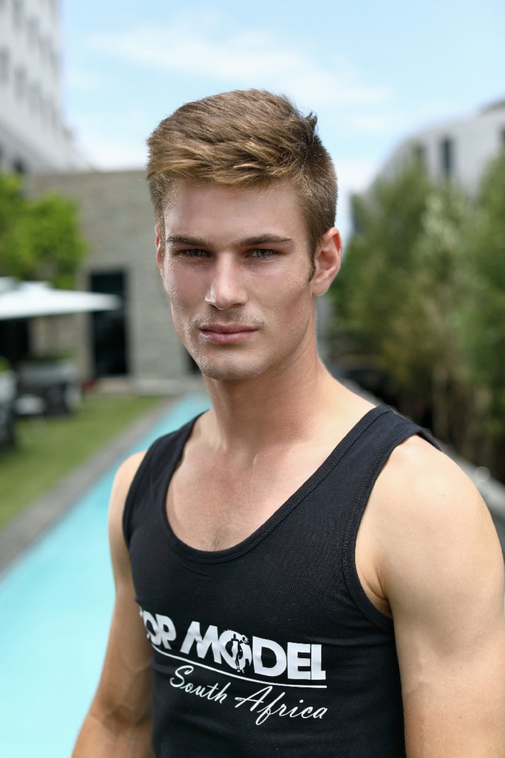 Alexander Jenkinson - Male Winner of Top Model SA