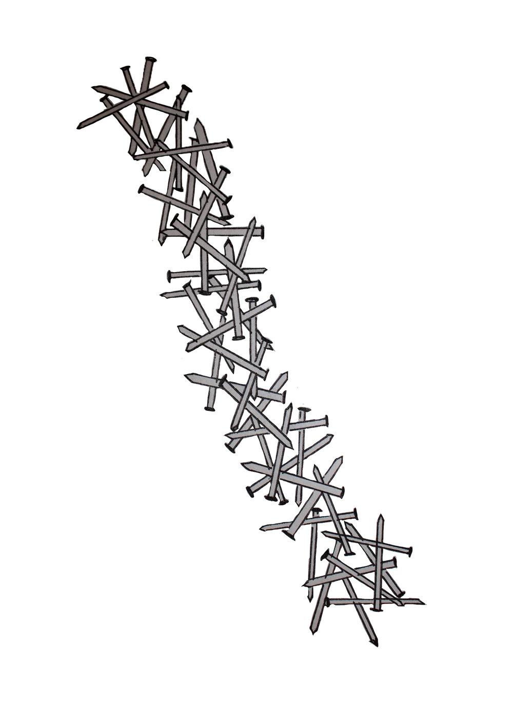 Preliminary Sketch (Nail configuration)