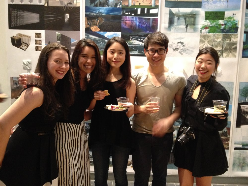 2015 BFA GRADUATES  AT THEIR SENIOR SHOW