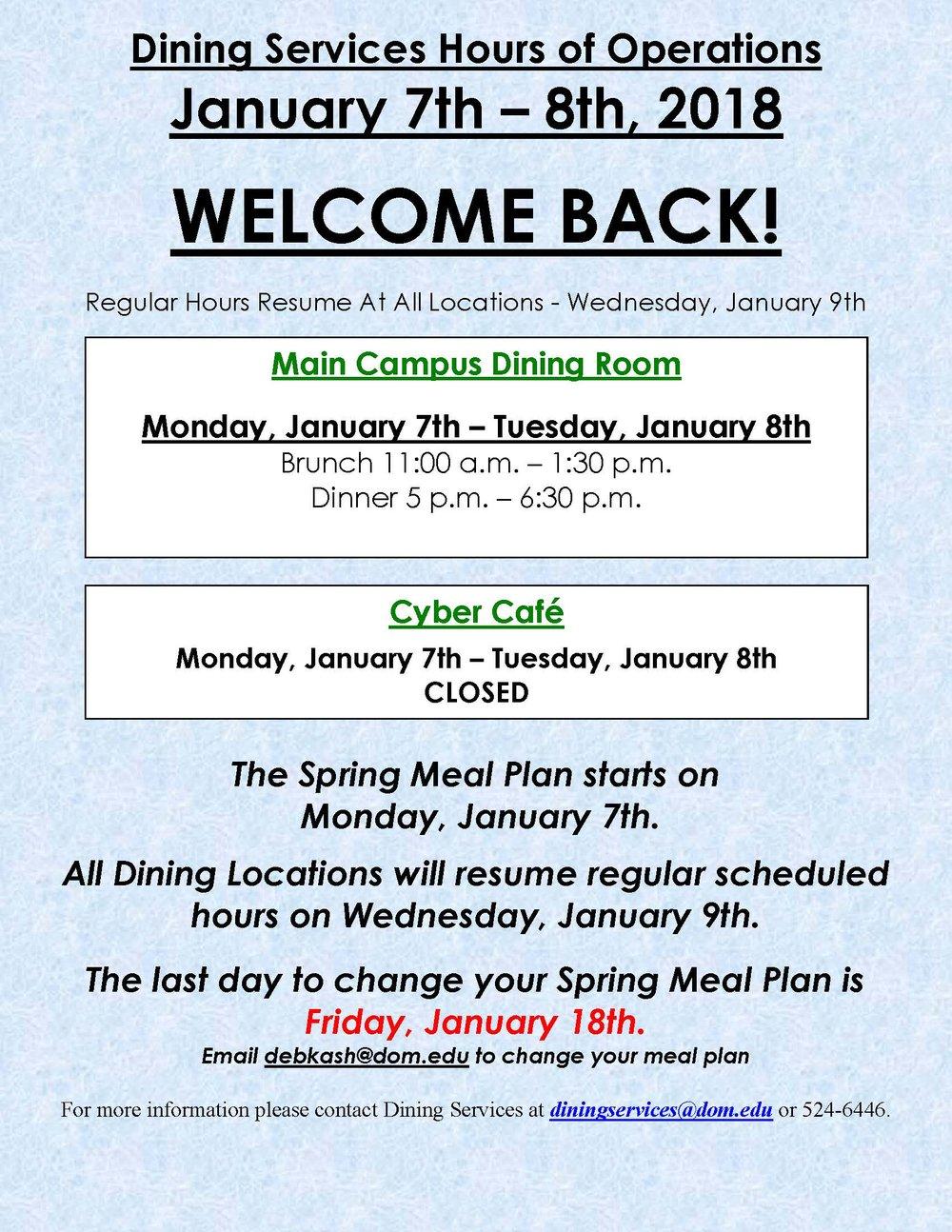 Spring Semester Begins, January 7-8th, 2018.jpg