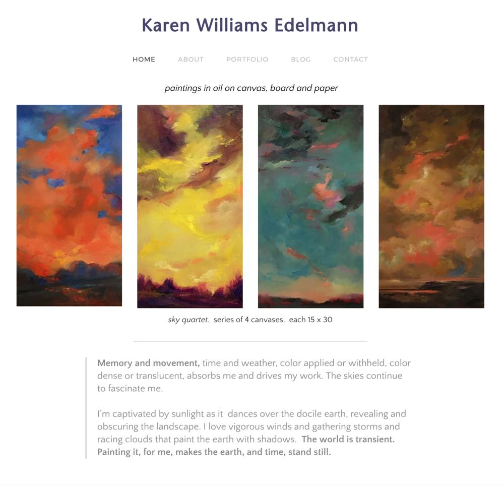 Artist Portfolio Site