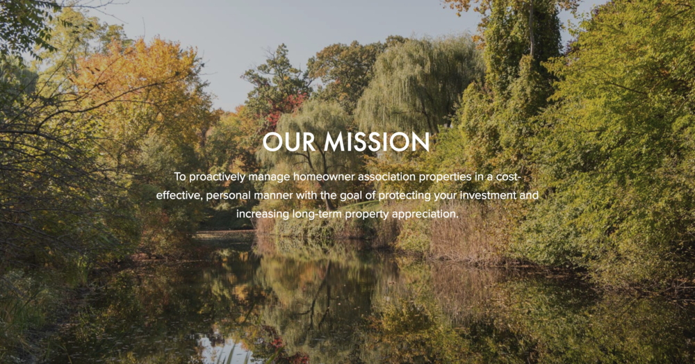 A growing business - Senga Property Management's greatest strength is commitment and accountability. Senga needed a site to communicate that message at first glance and also at a deeper level. Their personal story, descriptions of how they meet their challenges and ease of contact are important factors in this website.