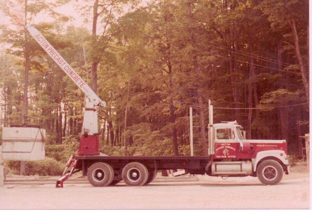 1st swing boom crane- built 1983