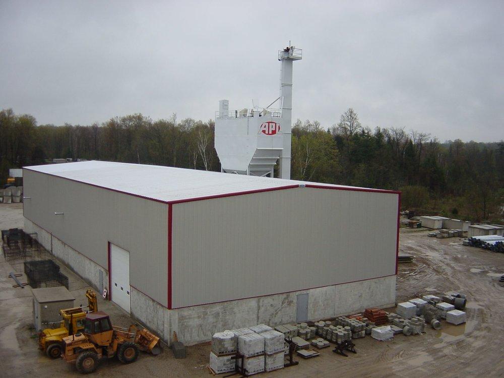New plant 2001