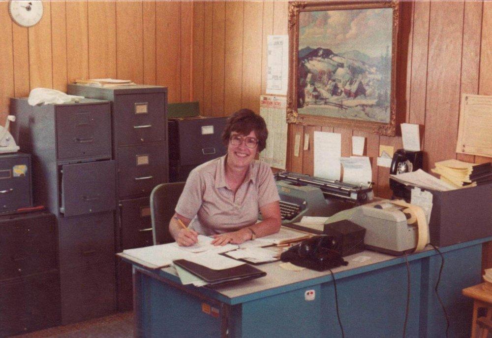 Joanne Turner - President 1977-1987
