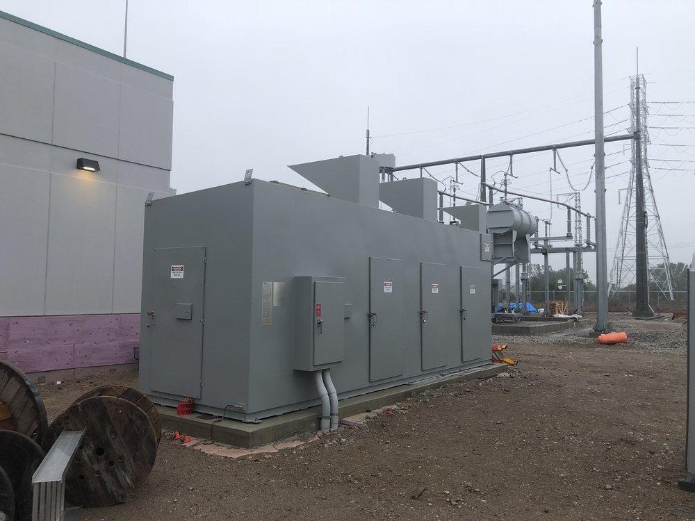 HONI 27.6kV, 200kV BIL, 21.6 MVAR Arc Resistant Capacitor Bank