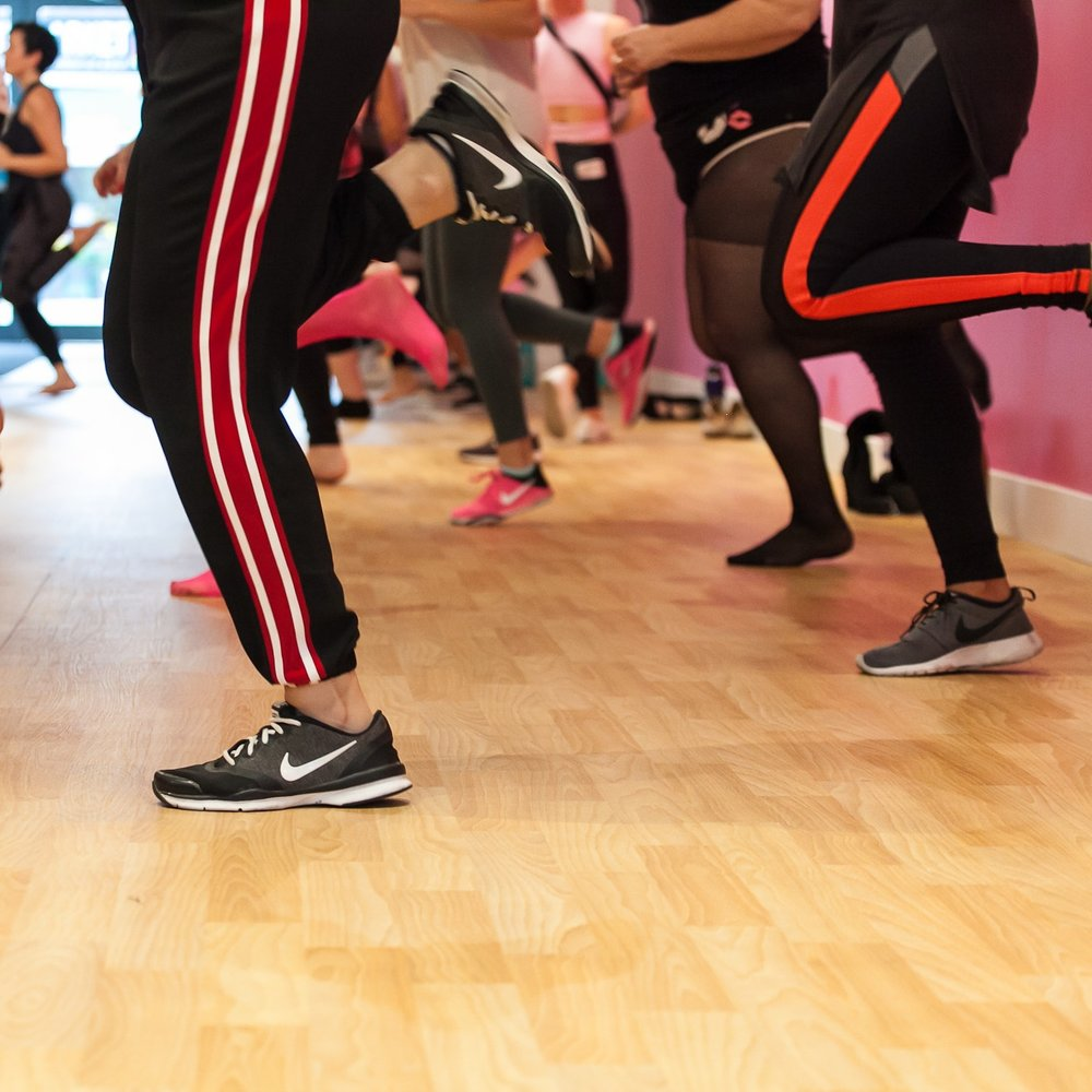 Cardio Hip Hop - Get your cardio in while having fun! Learn a hip hop combo in an easy to follow format thatkeeps you moving for 60min. Moves are broken down and put together all to a running mixof the best hip hop jams.