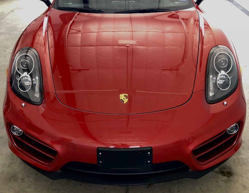 Porsche Cayman Paint Protection