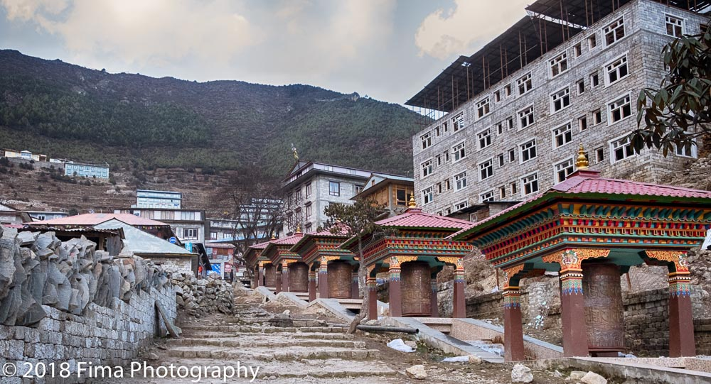 - Entering Namche