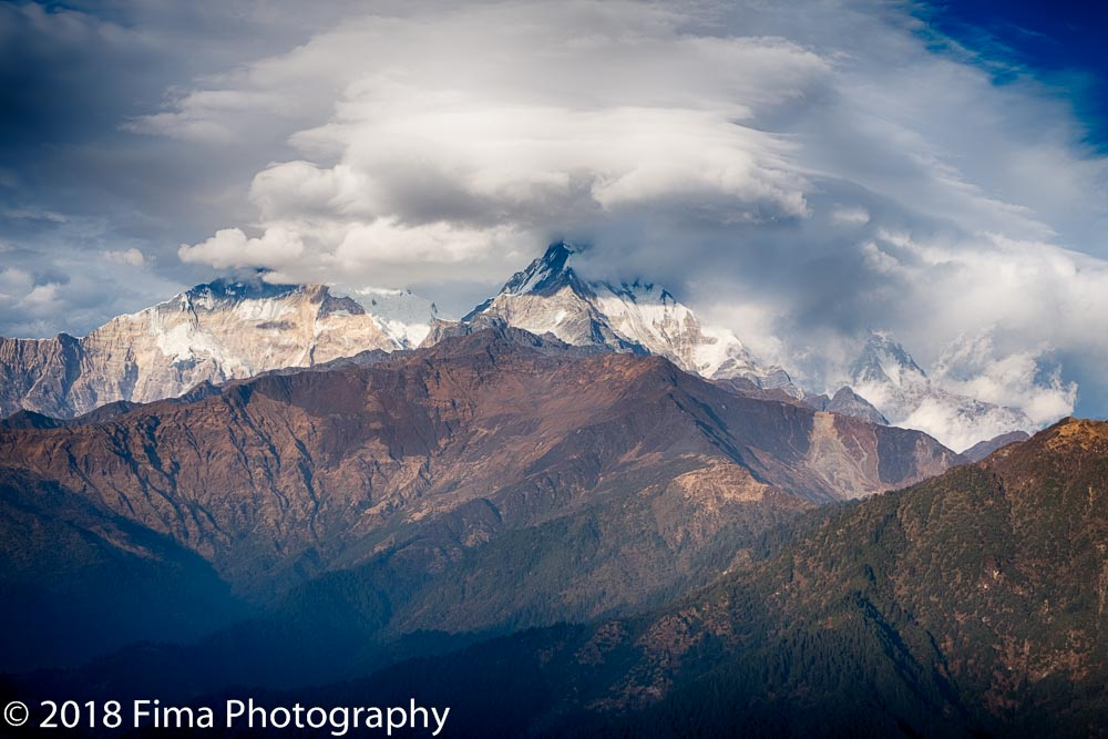 - Annapurna mountains