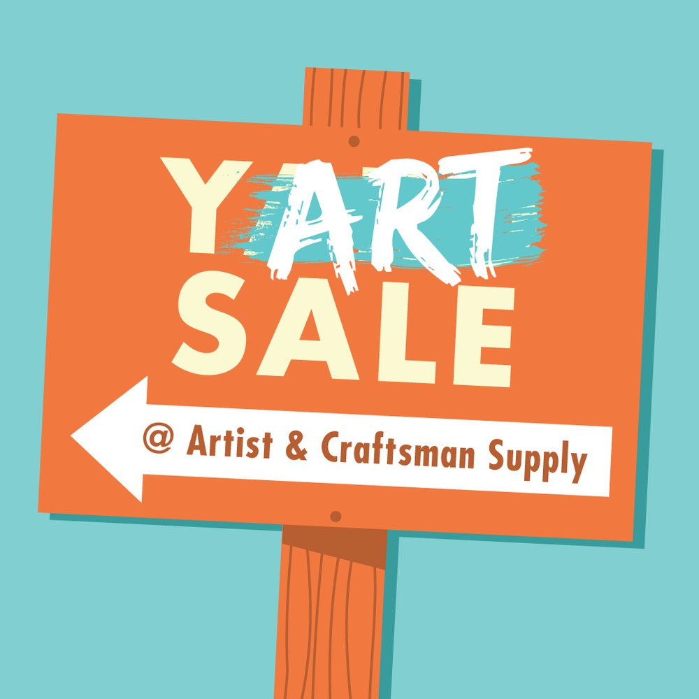 Artist & Craftsman Supply - 4902 43rd AveHyattsville, MarylandDec. 16, 10 a.m.-7 p.m.Join A&C for a yART sale! They are making space for new product and want to pass the savings on to you! Expect MAJOR discounts on toys, frames, brushes, and much more! One day only. Don't miss out!
