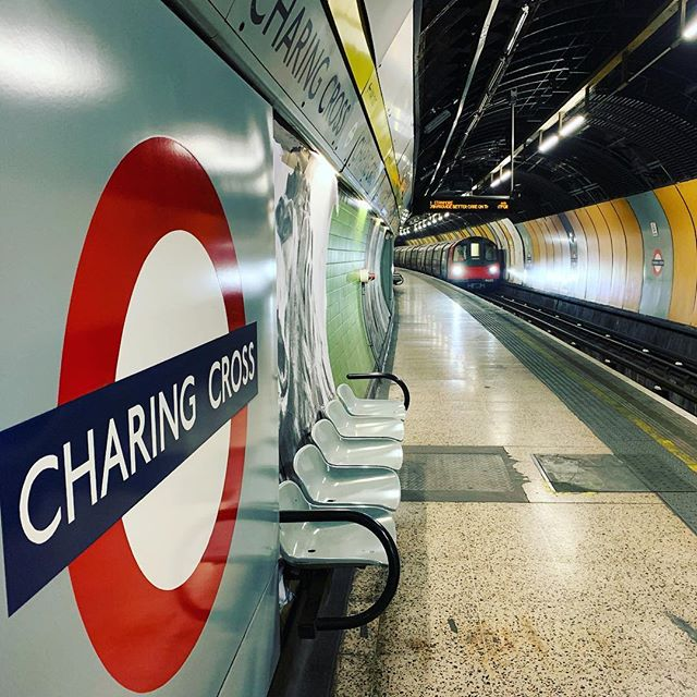 A fun week shooting for @britishtransportpolice this week. This was the disused platform at Charing Cross. Some amazing footage shot by @adamlovedaybrown - can't wait to see the edit #film #filmproduction #content #director #producer #productioncompany