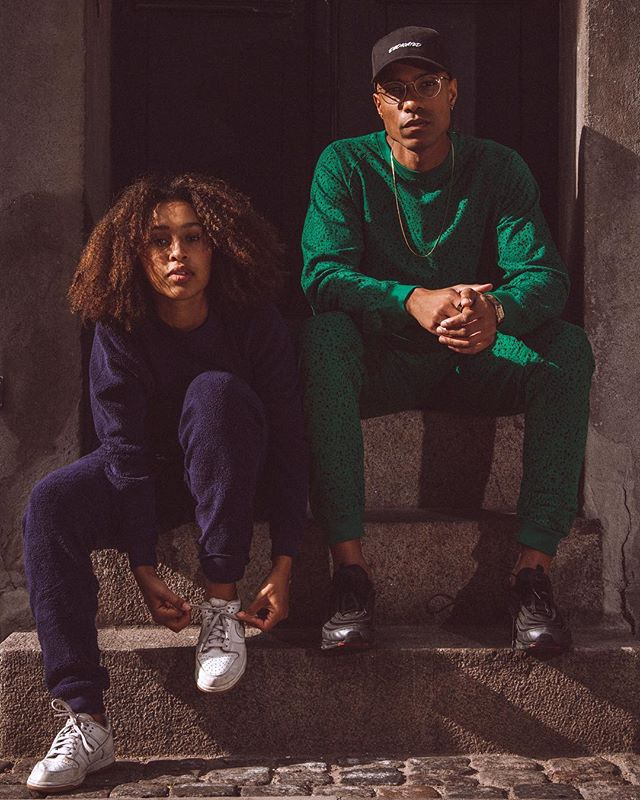 Double trouble!! @zainasegujja and @gavincphmusic you guys make it easy!! @dedicatedbrand #AW18 #sustainablefashion #fairfashion #streetwear #copenhagen