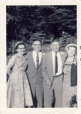1958: Carrie, Ken, Frank & Margaret
