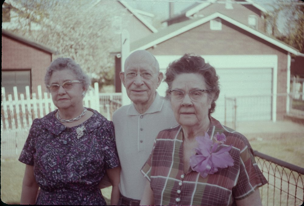 ca. 1963: unknown, John & Stella Lankford