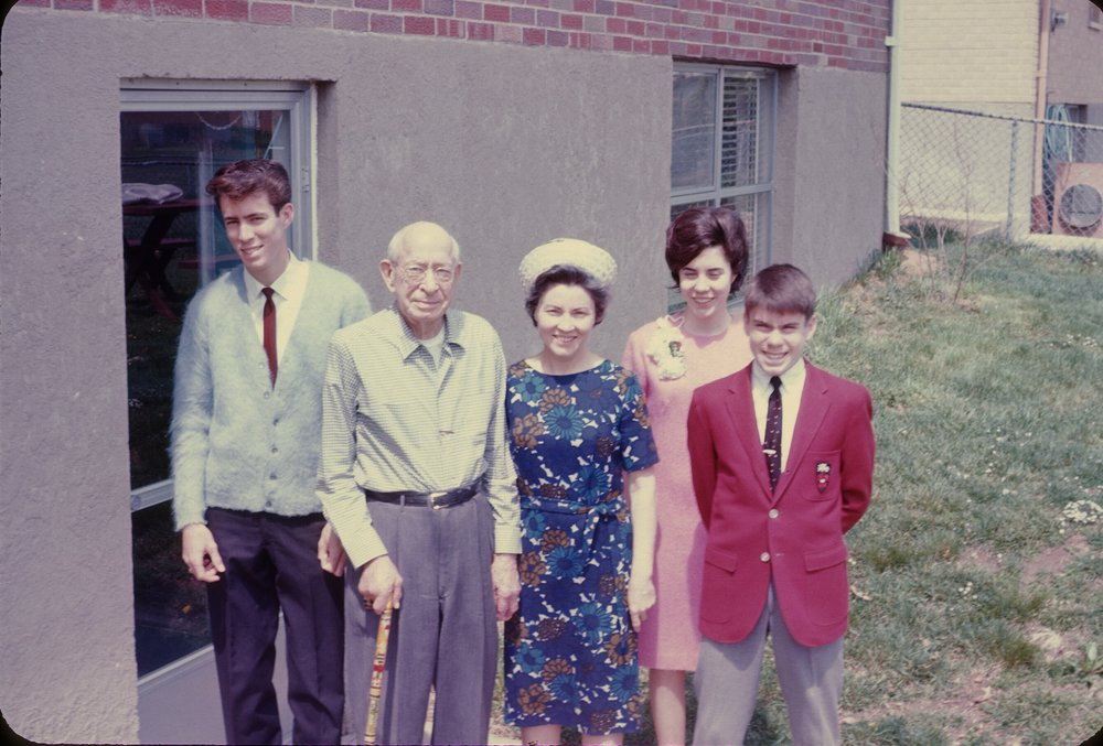 1966: Johnny, John, Dorothy, Sue, Jim Lankford