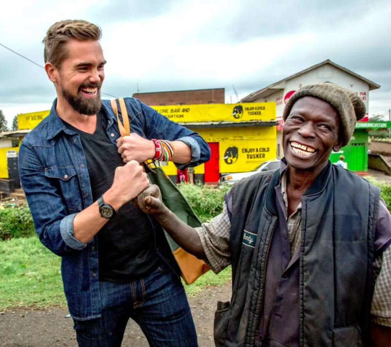 Founder Zane Wilemon with a Kenyan local / Photo Credit: Georgina Goodwin
