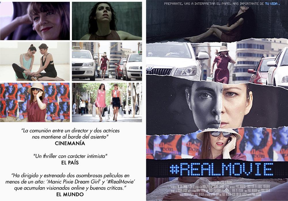 #REALMOVIE                                                                                                       2013, 60 mins. (1.85.1, HD) Interpretada por Eva Llorach y Rocío León.                                                              Una producción de Calle 13 Universal y We love cinema.                                                                           VER ONLINE