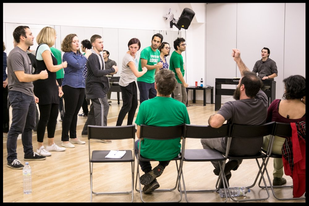 GENERAL - These workshops can be taken by any improviser