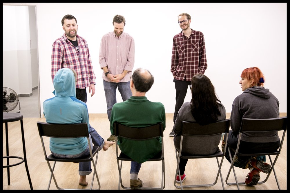 advanced - These workshops can be taken by improvisers with 4+ years experience, who rehearse and perform regularly