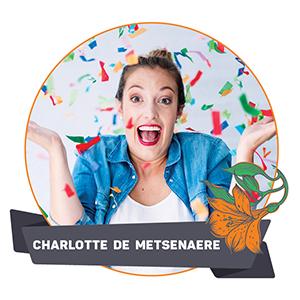 Teacher: Charlotte de Metsenaere