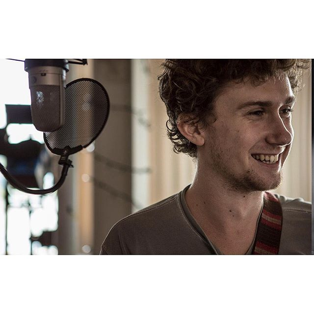 We believe it's important to seek out your passions outside of work. @phortlandia is a talented editor/audio crew member, but many may not realize he's also the lead singer/guitar for @elninotheband . . . . . #leadsinger #musicphotography #musicphotog #musicianportrait #instaband #elnino #recordingsession #recordingstudio #musicportrait #musicpassion #findyourpassion #lovewhatyoudo #allsmileshere #recordingsesh #microphone