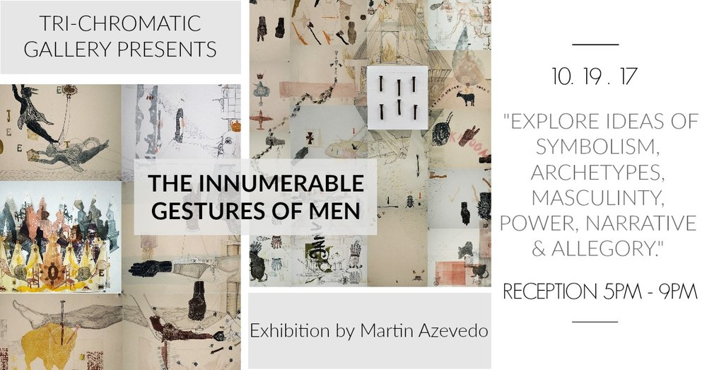 The Innumerable Gestures of Men Poster