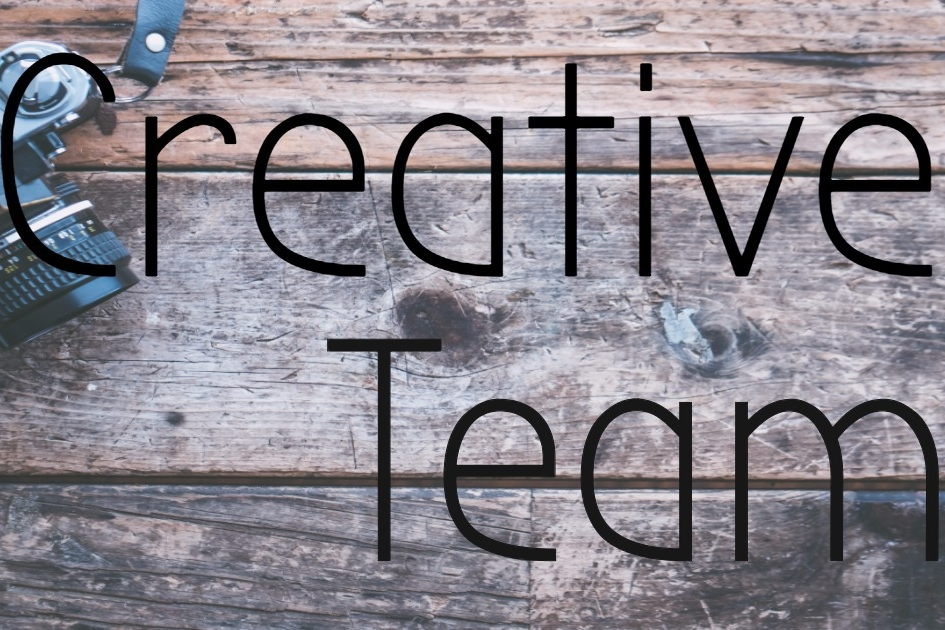 Creative Team  - Do you have a PASSION for video, photography, or graphics? Join our team!