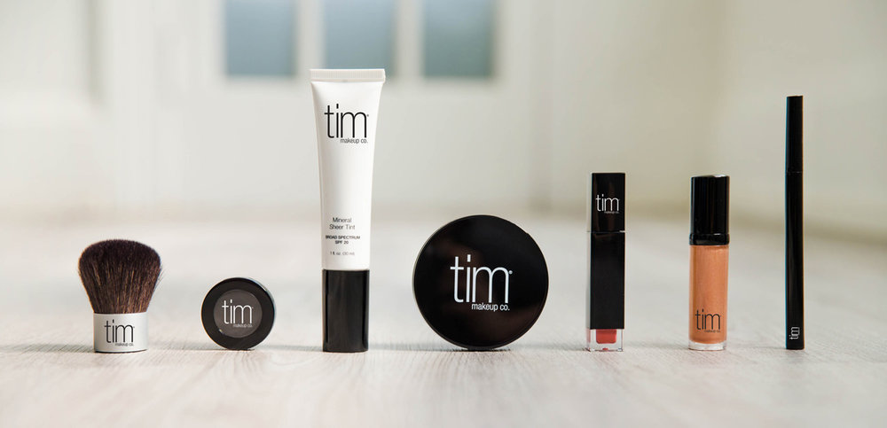 tim family of makeup products