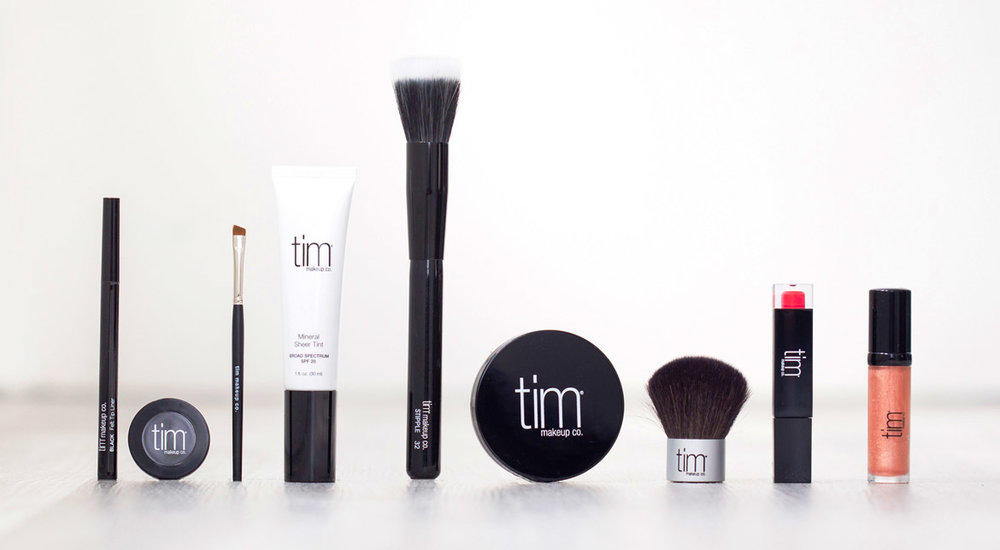 tim makeup collection