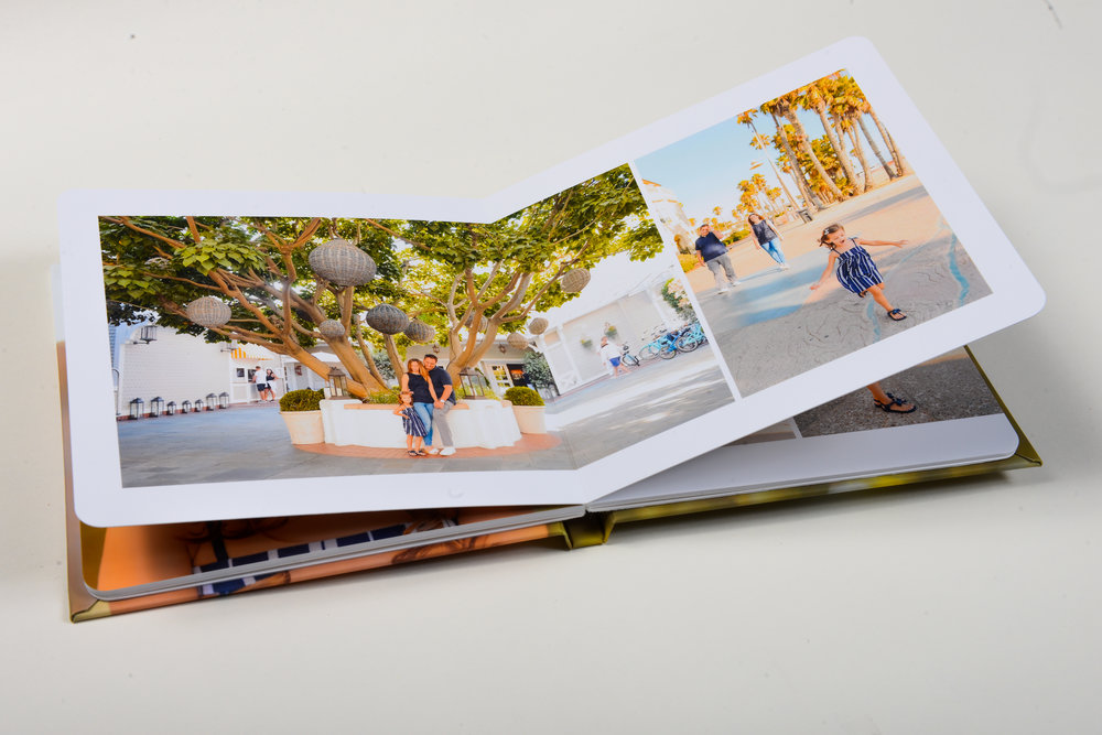 Our Albums - Thick pages, rounded corners, premium print quality