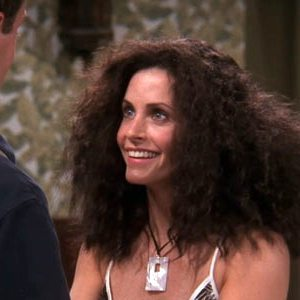 This is my hair in the spring humidity