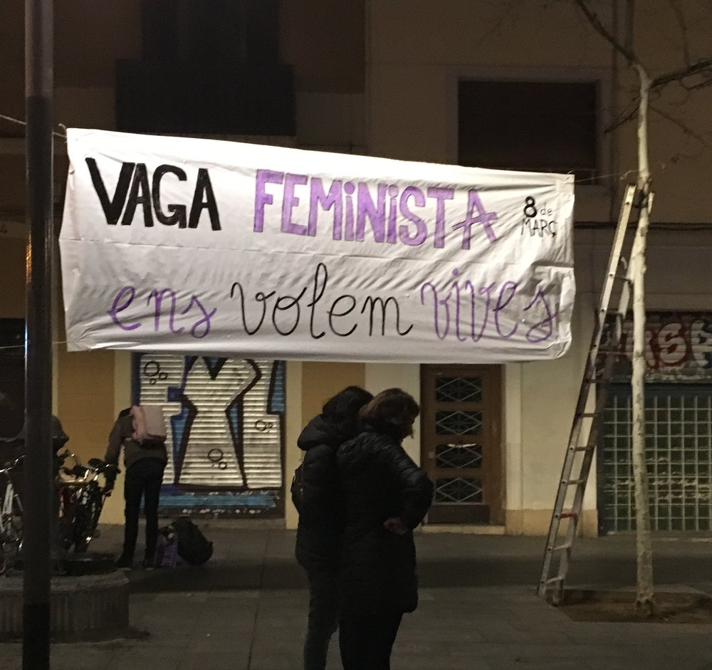 Catalan for women wanna live their lives - that's not a direct translation
