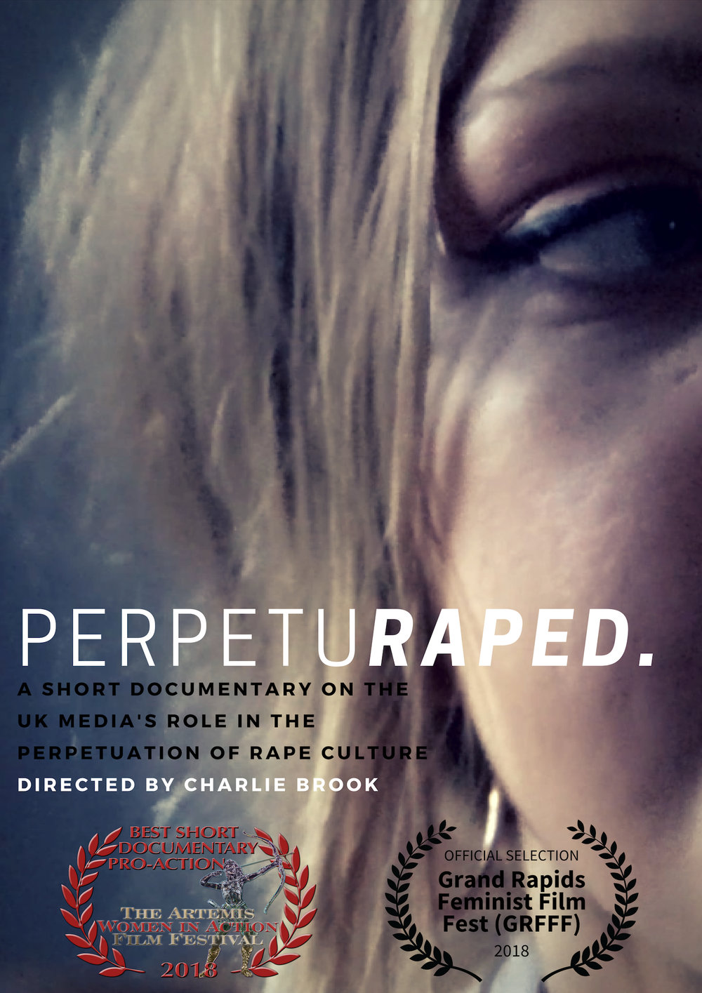 Official Perpeturaped poster - featuring the amazing lillian constantine
