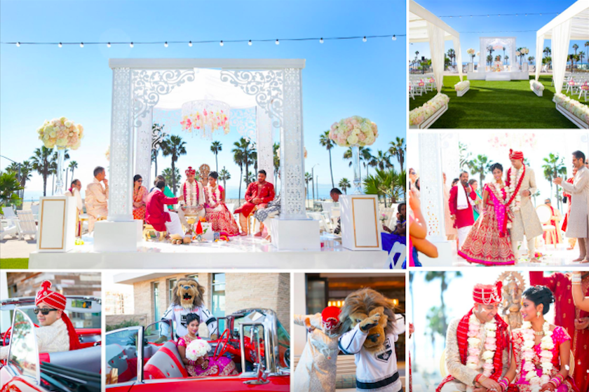 ceremony, wedding ceremony, traditional, south asian bride magazine, print, magazine, shawna yamamoto, event design, floral design