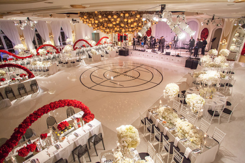 Shawna Yamamoto Floral Design | Mission Impossible Mitzvah at the Beverly Hills Hotel | Red and White _ (3).jpg