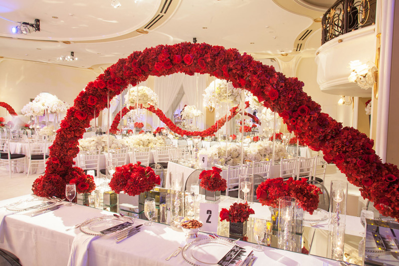 Shawna Yamamoto Floral Design | Mission Impossible Mitzvah at the Beverly Hills Hotel | Red and White _ (8).jpg