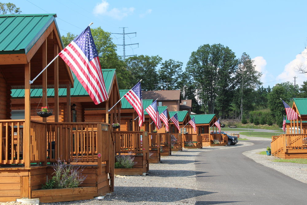 Premium Log Cabins at Cherry Hill Park