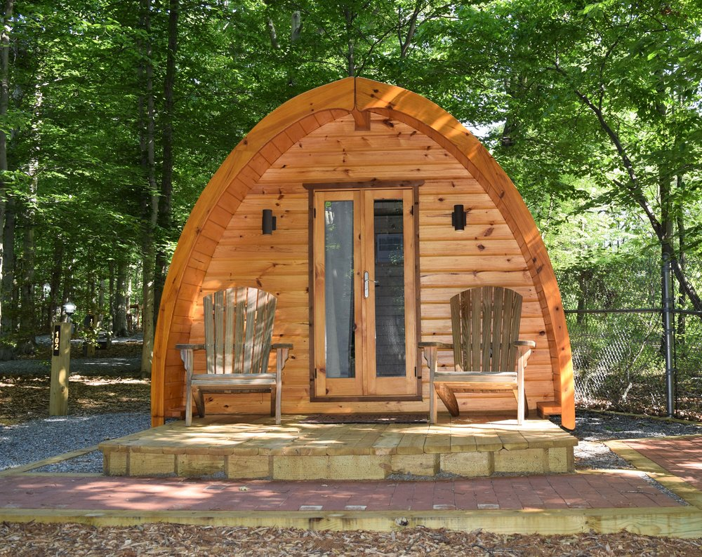Glamping Pod at Cherry Hill Park