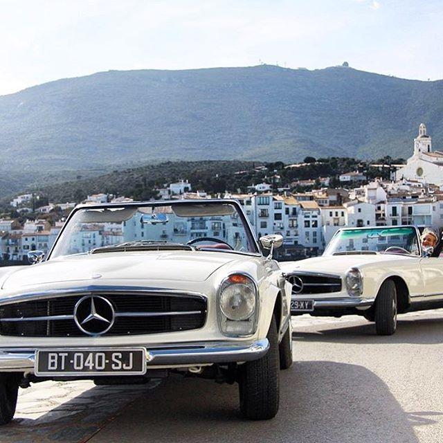 Vacation Goals in the #230sl via @mercedesbenz