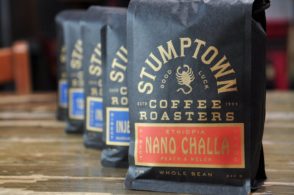 We are proud To offer - Stumptown Coffee