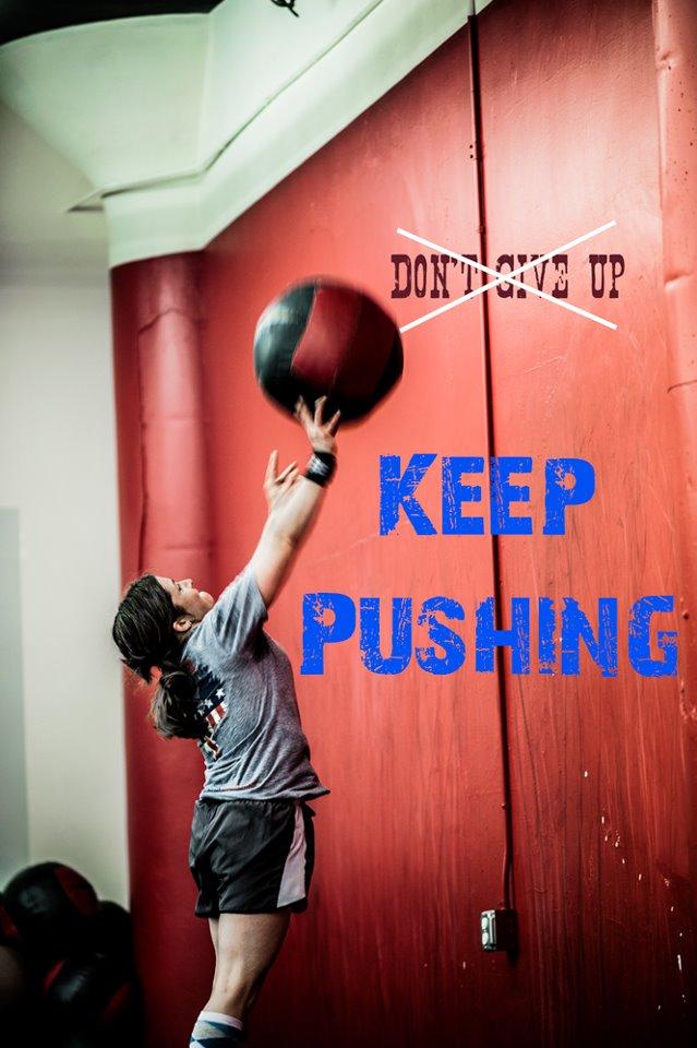 Wallball Keep Pushing