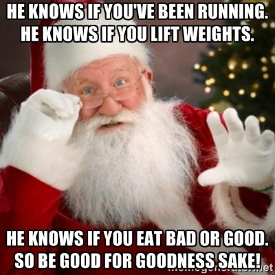Santa god or bad