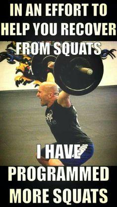 more squats